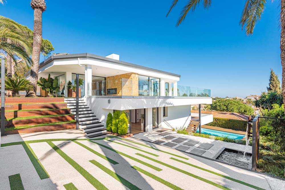 Fabulous new villa in Marbella